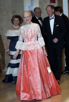 Queen Margrethe II of Denmark at halftime show during the celebration of the Norwegian Constitutional Bicentenary at the Copenhagen Opera House in Denmark on 23.05.2014.