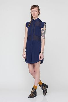Need Supply Astoria Shirt Dress, $49.99, available at Need Supply.