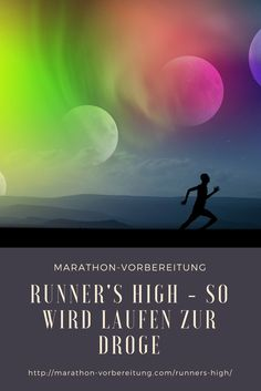 Runner's High - wie wird Laufen zur Droge? #droge #runnershigh #läuferhoch Runners High, Marathon Training, Jogger, Living A Healthy Life, Triathlon, Swimming, Running, Tricks, Sports