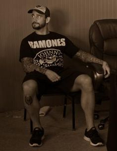 One of my favorite wrestlers wearing one of my favorite shirts.