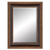 """Found it at Wayfair - Aspire 43"""" Framed Mirror Black and Gold"""