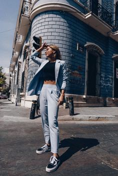 @thetalkinglipstick / I SEE BLUES. – The Talking Lipstick / outfit, look, ootd, trend, fashion trend, fashion, style, street style, blogger, mexican blogger, tendencias, moda.
