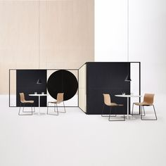 Arper extends the functionality of Parentesit to include freestanding models for increased privacy and comfort. Architectural in scale, these modules carve out a three-dimensional space for concentration or quiet conversation in shared workspaces or collaborative environments. Designed by Lievore Altherr Molina, Parentesit was created with a dual inspiration of minimalist art and classic Japanese interiors. To shift this approach to an architectural scale, Parentesit Freestanding has become…