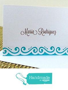 Flourish Border Note card Set from Mis Creaciones by Patricia Chalas http://www.amazon.com/dp/B01678KFRQ/ref=hnd_sw_r_pi_dp_pLxowb08R7MNF #handmadeatamazon