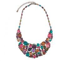Send the Trend Arnelle Jewel Bib Necklace