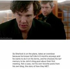 Sherlock is in love with John and no one will ever convince me other wise Sherlock Holmes Benedict, Sherlock Holmes Bbc, Sherlock Fandom, Sherlock Quotes, Sherlock John, Benedict Cumberbatch, Watson Sherlock, Jim Moriarty, Sherlock Cumberbatch