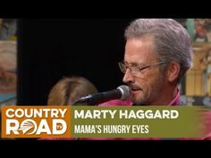 "This week we pay tribute to the late great Merle Haggard. Here is Merle's eldest son, Marty Haggard singing ""Mama's Hungr. Country Music Videos, Country Music Singers, Merle Haggard Sons, Country Family Reunion, Cmt Music, U Tube, Music Clips, Best Songs, My Favorite Music"