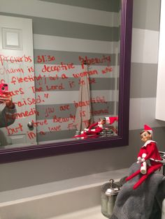Fantastic Cost-Free Christian elf on the shelf ideas, teaching Kennedi proverbs helping her t. Popular Christian elf on the shelf ideas, teaching Kennedi proverbs helping her to understand her be Christian Crafts, Christian Christmas, Christmas Elf, Family Christmas, Proverbs 31, Popular Proverbs, Kindness Elves, Elf On The Self, Cowboy Christmas
