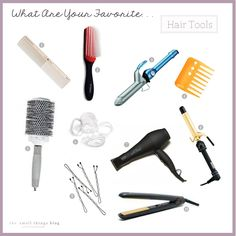 The Small Things Blog: What Are Your Favorite. . . Hair Tools