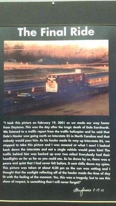 What a great tribute to The one and only Dale Earnhardt Sr R.E,sr! Dirt Track Racing, Drag Racing, Auto Racing, The Intimidator, Racing Quotes, Nascar Quotes, Automobile, Nascar Race Cars, Sprint Cars