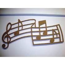 Quadro Decorativo Musical Clave De Sol - Mdf 6mm Cru 70x30cm Laser Cutting, Clothes Hanger, Madeira, Cnc Projects, Interesting Stuff, Woodwork, Frames, Wall, Craft