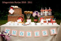 """Photo 1 of 11: styled photo shoot """"Fancy Camping"""" 