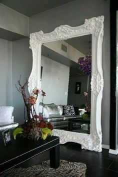 4 Cheap And Easy Diy Ideas Large Wall Mirror Floating Vanity Framed Wall Mirror Awesome Wall Mir Mirror Wall Living Room Living Room Mirrors Large Wall Mirror