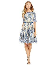 Eliza j lace dress dillards university