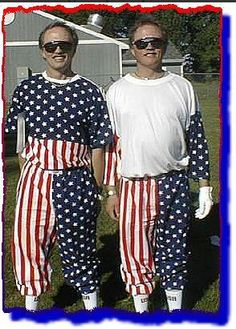 Celebrating the 4th. Male Gender, Twin Photos, Stupid, Cheer, Twins, Celebrities, Boys, Pants, Dresses