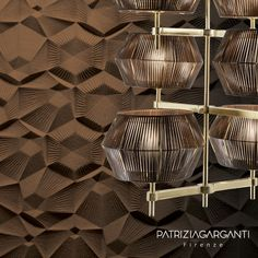 NOVECENTO by Patrizia Garganti Pendant Lamp, Pendant Lighting, Light Art Installation, Wall Lights, Ceiling Lights, Traditional Lighting, L And Light, Fashion Lighting, Ceiling Lamp