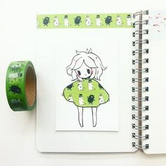 fashion 17 moomin tape from c: Amazing Drawings, Beautiful Drawings, Cute Drawings, Amazing Art, Washi Tape, Character Art, Character Design, Chibi Kawaii, Tape Art
