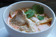 Tom Kha Gai Recipe (ต้มข่าไก่) – A Tutorial for Beginners - something I should try considering my aversion to chicken soup.