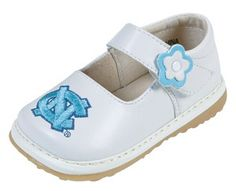 UNC Baby Shoes for Girls...My daughter will defiantly have these