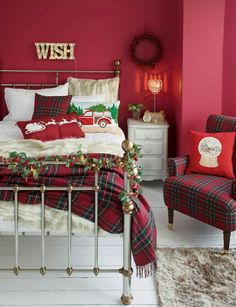 #ChristmasBedroom