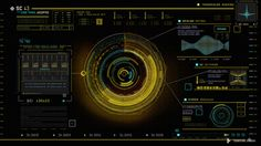 UI work by Territory Studio for Guardians of the Galaxy