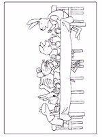 KIKKER KLEURPLATEN VAN MAX VELTHUIJS ZONDER RECLAME! Activities, Inspired, School, Drawings, Book, Winter, Fun, Character, Toad