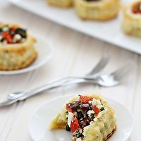 Greek Puff Pastry Appetizers with Kalamata Olives by Good Life Eats