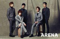 MBLAQ - Arena Homme Plus Magazine January Issue '14