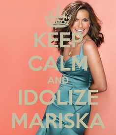 I LOVE Mariska Hargitay! Better known to most people as Detective Olivia Benson in Law and Order: Special Victims Unit
