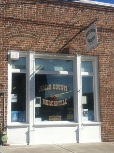 James Country Merchantile (store front)