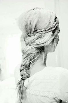 Super cute braid!