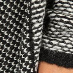 Long gilet châle noir et blanc @Pimkie sélectionné par @ArmarioEnRuinas de Mi Armario En Ruinas