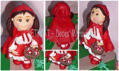 BETYCAT - Cake Design: Capuchinho Vermelho e a Avózinha