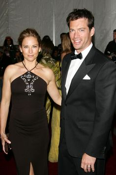 Harry Connick and wife Jill Goodacre former victoria secret model