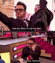 Reasons Why Robert Downey jr. is awesome #55