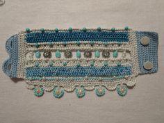 PATTERN : Bead Crochet Bracelet Cuff by PureJoyColors on Etsy