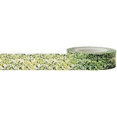 Leaf Decorative Tape  Little B Decorative Paper Tape  Leaf Washi Tape  Craft Supply  Leaf Tape  Leaf Washi Tape (100656) (3.25 USD) by iluvdesign