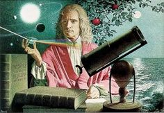 "Sir Isaac Newton PRS MP was an English physicist, mathematician, astronomer, natural philosopher, alchemist and theologian, who has been ""considered by many to be the greatest and most influential scientist who ever lived."" #Alchemist #Newton #Physicist #Inspiration"