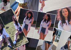 Fila Baseball plus superhot hair tutorial Baseball, Skirts, Hair, Outfits, Shopping, Fashion, Baseball Promposals, Whoville Hair, Moda