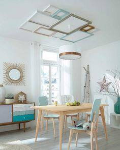 Plafond avec cadres