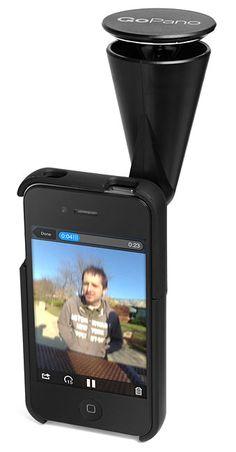 GoPano 360 Degree Camera for #iPhone  For #APPLE NEWS Visit iLadies http://apple4ladies.com/