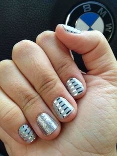 2014 new year nails design: 2014 Bmw Nail Art Design ~ fixstik.com Nail Designs Inspiration