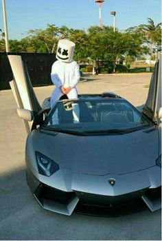 Two loves in one photo Is that silvery sports car? Hd Wallpaper Android, Gaming Wallpapers, Wallpaper Iphone Cute, Dj Music, Music Love, Music Is Life, Dj Alan Walker, Marshmello Wallpapers, Marshmello Dj