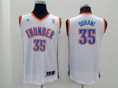 NBA Kevin Durant youth kids jersey white