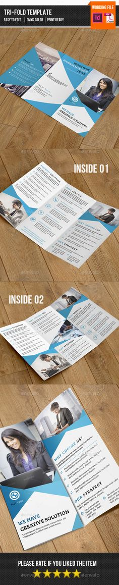 Corporate Trifold Brochure Template #design Download: http://graphicriver.net/item/corporate-trifold-brochurev257/13115534?ref=ksioks