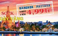 Du lịch Thái Lan Giá rẻ - Siêu khuyến mại (GOLDENTOUR): Bangkok - Pattaya