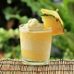 Pineapple Frappe http://www.womenshealthmag.com/weight-loss/drinks-to-lose-belly-fat/slide/4