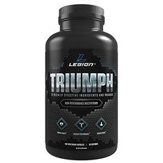 """The best daily multivitamin for men and women. Triumph contains 21 essential vitamins and minerals, including those often overlooked or under-dosed in other natural multivitamins like vitamins K1, K2, and D, and zinc, magnesium, iodine, and chromium. That's not all, though — it also contains 14 additional herbs and phytonutrients proven to boost physical and mental health and performance, lower stress, improve sleep, and more."""
