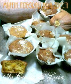 Muffin integrali alla zucca http://blog.giallozafferano.it/incucinadalicia/muffin-integrali-alla-zucca/