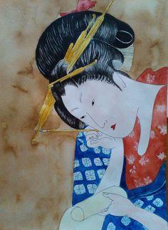 japán metszetek - Blogger.hu Japan Art, Watercolor Paintings, Disney Characters, Fictional Characters, Disney Princess, Japanese Art, Water Colors, Fantasy Characters, Watercolour Paintings